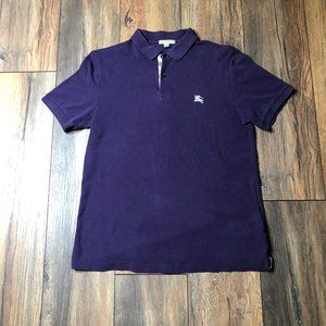 Burberry Brit Nova Check Polo Shirt 100% Cotton